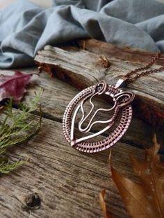 Wolf necklace by UrsulaJewelry