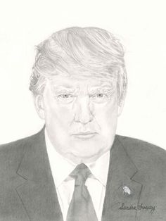 Watch me draw Donald Trump, President of the United States of America, Graphite Pencil Sketching. Donald J. Trump is the and current president of the Un. Current President, Pictures To Draw, Graphite, Donald Trump, Presidents, Pencil, Sketches, United States, The Unit