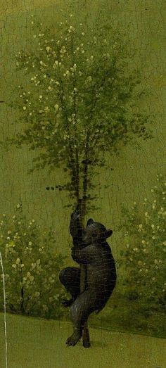 Bear from The Garden Of Earthly Delights, Hieronymus Bosch