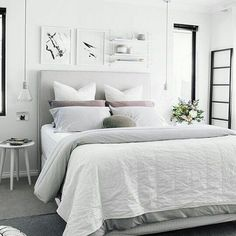 Clean and cosy ___________________________________ #home#bedroom#inspo#details