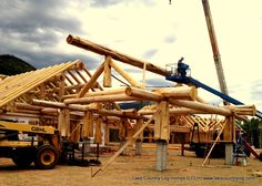 Building your Dream from Nature with Lake Country Log Cabin Homes, Cabins, Cedar Log, Old Trees, Post And Beam, Western Red Cedar, Tiny Houses, Colorado, Canada