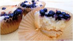 Paleo Lemon Blueberry Cupcakes  @Simple and Merry