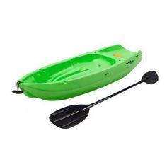 Lifetime 90153 Youth Wave Kayak with Paddle, 6 Feet (Green) Sit On Kayak, Canoe And Kayak, Built In Gas Grills, Kayaking With Kids, Canoe Accessories, Best Fishing Kayak, Kayak Paddle, Inflatable Kayak, Sports Toys