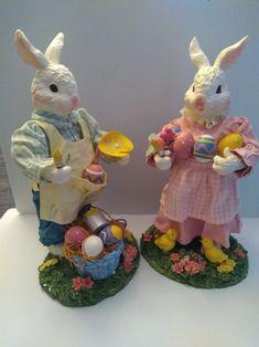 Easter Chick Sculpture Handmade Felt Statue Funny Figurine Easter or Nursery Decorations