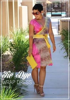 DIY Tie Dye Dress + Pattern Info V1027 - mimi g.