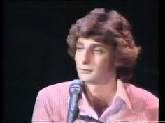 "▶ Barry Manilow - ""Somewhere Down The Road."" Yes, you guessed it; I'm that guy who [ with few exception ]likes pretty much everything. And Barry Manilow holds an extra-special place in my heart because he was the first star I ever stood in line to get an autograph from. And I think his melodies are really beautiful. :)"