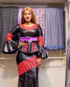 ( 23 PHOTOS ) Les dernières tendances de la mode KORITÉ 2018, Binta chics et Class pour vous donner un… – Dakarbuzz African Attire, African Wear, African Women, African Dress, African Fashion, Peplum Dress, Gowns, Basin, My Style