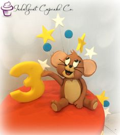 Tom and Jerry fondant cake topper by Love Cake Create Best of