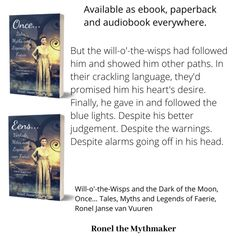The Wily Will-o'-the-Wisp – Ronel the Mythmaker Fairies Mythology, Elf Dance, Will O The Wisp, Welsh Words, Blue Flames, Nymph, Folklore, Faeries, Audio Books