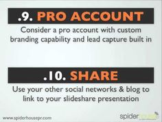 25 Essential Slideshare Marketing Tips - Maximise Your ROI by Carley Morrow
