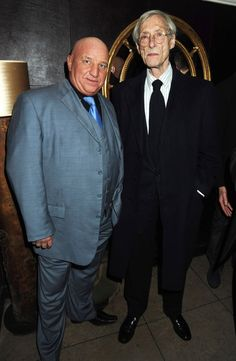 March 2009: Former gangster Dave Courtney and Great Train Robber Bruce Reynolds