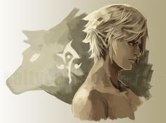 Wolf Link and Human Link (from Twilight Princess)