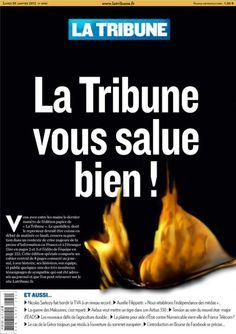 30 janvier - Dernier numéro pour l'édition papier de La Tribune