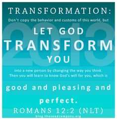 †♥✞♥† Do not conform yourselves to the standards of this world, HOWEVER Let God Transform You Inwardly By A Complete Change 0f Your Mind. Then you will be able to know the will of God—what is good and is pleasing to Him and is perfect. †♥✞♥† Don't let the world around you squeeze you into its own mould, but let God re-mould your minds from within, so that you may prove in practice that the plan of God for you is good, meets all His demands and moves towards the goal of true maturity.  †♥✞♥†
