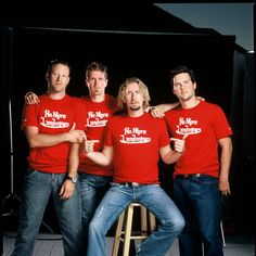 nickelback   Nickelback: hard rock band or Abercrombie & Fitch models?!