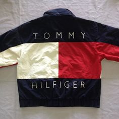 Vintage Tommy Hilfiger TH Jacket Sweater by AttarHeaven on Etsy