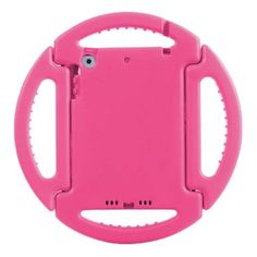 For+iPad+Mini+1/2/3+Pink+EVA+Disk+Style+Bumper+Portable+Protective+Case+with+Handle+&+Holder