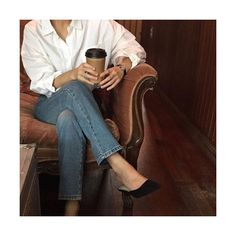 Fashion Gone rouge: Photo Casual Outfits, Fashion Outfits, Womens Fashion, Fashion Tips, Fashion Mode, Fashion Brands, Mode Cool, Estilo Jeans, Fashion Gone Rouge