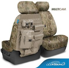 Coverking Multicam Camo Tactical Seat Covers