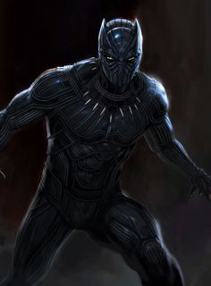New Concept Art for MCU Black Panther by Andy Park. Marvel made the right choice. the suit they used in the movie was much, much better. Black Panther Marvel, Black Panther Character, Black Panther King, Civil War Characters, Black Characters, Marvel Characters, Marvel Comics, Dc Comics Art, Marvel Heroes