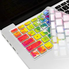 """Tie Dye Ultra Thin Soft Silicone Keyboard Cover Skin for Macbook 13"""" 15"""" 17"""""""