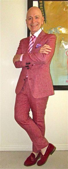Suitsupply linen suit, Ralph Lauren shirt, Andrew's Ties knecktie, BKR tassel loafers… #Suitsupply #RalphLauren #AndrewsTies #BKR #Toronto #menswear #menscouture #mensfashion #instafashion #fashion #dandy #dandystyle #hautecouture #sartorial #sprezzatura #menstyle #dapper #dapperstyle #pocketsquare #WIWT