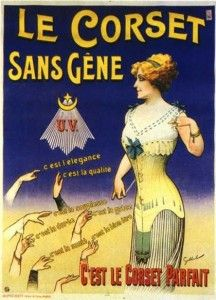 1900's corset ad