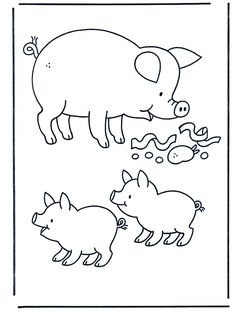 pets and farm animals Colouring Pages