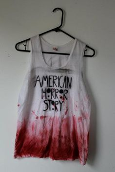 DIY american horror story shirt! <3
