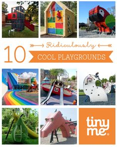 10 Ridiculously Cool Playgrounds ~ Tinyme