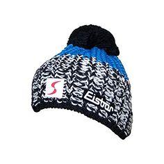 #Eisbär #Focus #Pompon #Beanie  #black/bugatti Eisbär Focus Pompon Beanie - black/bugatti, , - Neu- Eisbär Logo 2x, - ÖSV Logo vorn- innen mit Fleece, - große, rote Bommel- Unisex (für Damen und Herren), ,