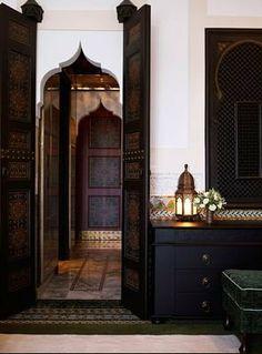 Moroccan Arch Doorway