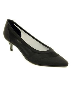 30fb3df6c30c Look at this Black Tertia Pump on  zulily today! 50 Fashion