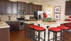 Gourmet kitchen in Ashburn, VA. the convenient second sink in ... on mercer island home, detroit home, santa fe home, aberdeen home, los angeles home, riverside home, portsmouth home, milwaukee home,