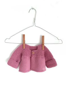 Learn How to Make this adorable Knitted Baby CARDIGAN. FREE Step by Step Pattern & Tutorial. A different way of making a Knitted Baby Cardigan!