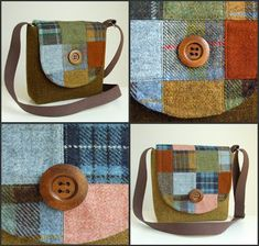 New Harris Tweed Patchwork