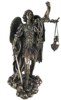 St. Michael Weighing Souls Statue