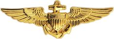 Naval Aviator Wings. Kirk Rimer was a naval aviator for the United States Navy for nine years.