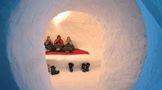 sleeping in igllo