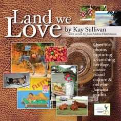 """""""Land We Love"""" is a pictorial book with over 100 photographs capturing a vanishing heritage, classic island culture and 'only in Jamaica' graffiti. The book has verses by Joan Andrea Hutchinson too. """"Land We Love"""" is a Jamaican treasure! #photographs #readers"""