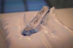 ガラスの靴 リングピロー