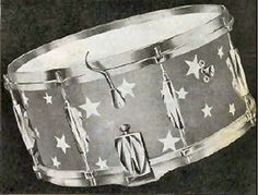 Carlton King snare with star wrap