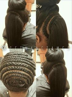 Crochet Hair You Can Brush : Crochet braids Can you BRAID my hair Pinterest Crochet Braids ...