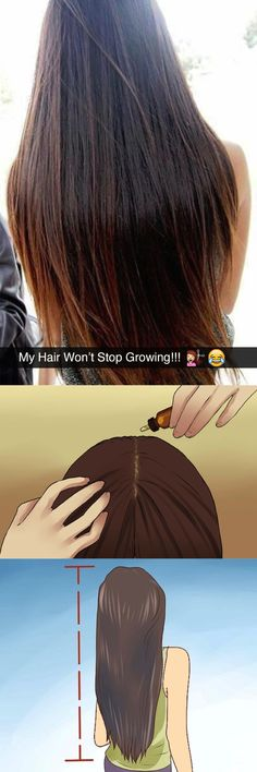 """Ladies, I have always tried and struggled to grow longer hair… Despite trying, I started to lose hope that it was even possible….UNTIL I found THIS Simple """"D.I.Y Length System"""" that triggered natural growth and thicker hair. This Stuff is no Joke!"""