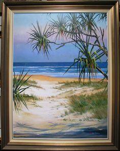 Artist Art (new) Sunshine Coast, Artist Art, Worlds Largest, New Art, Frame, Painting, Beautiful, Picture Frame, Painting Art