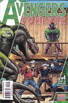 Avengers Forever # 4 Marvel Comics