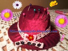 alfiletero sombrero
