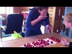How many strawberries can you eat in 30 sec?