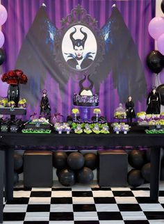 Little Wish Parties | Maleficent Party | https://littlewishparties.com