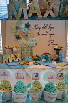 Boy Baby Shower party Supplies